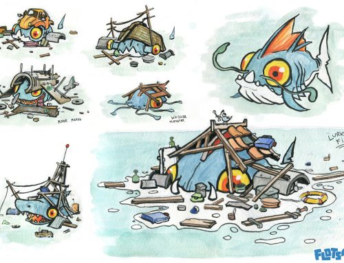 Designing sea creatures for Flotsam: Part 1