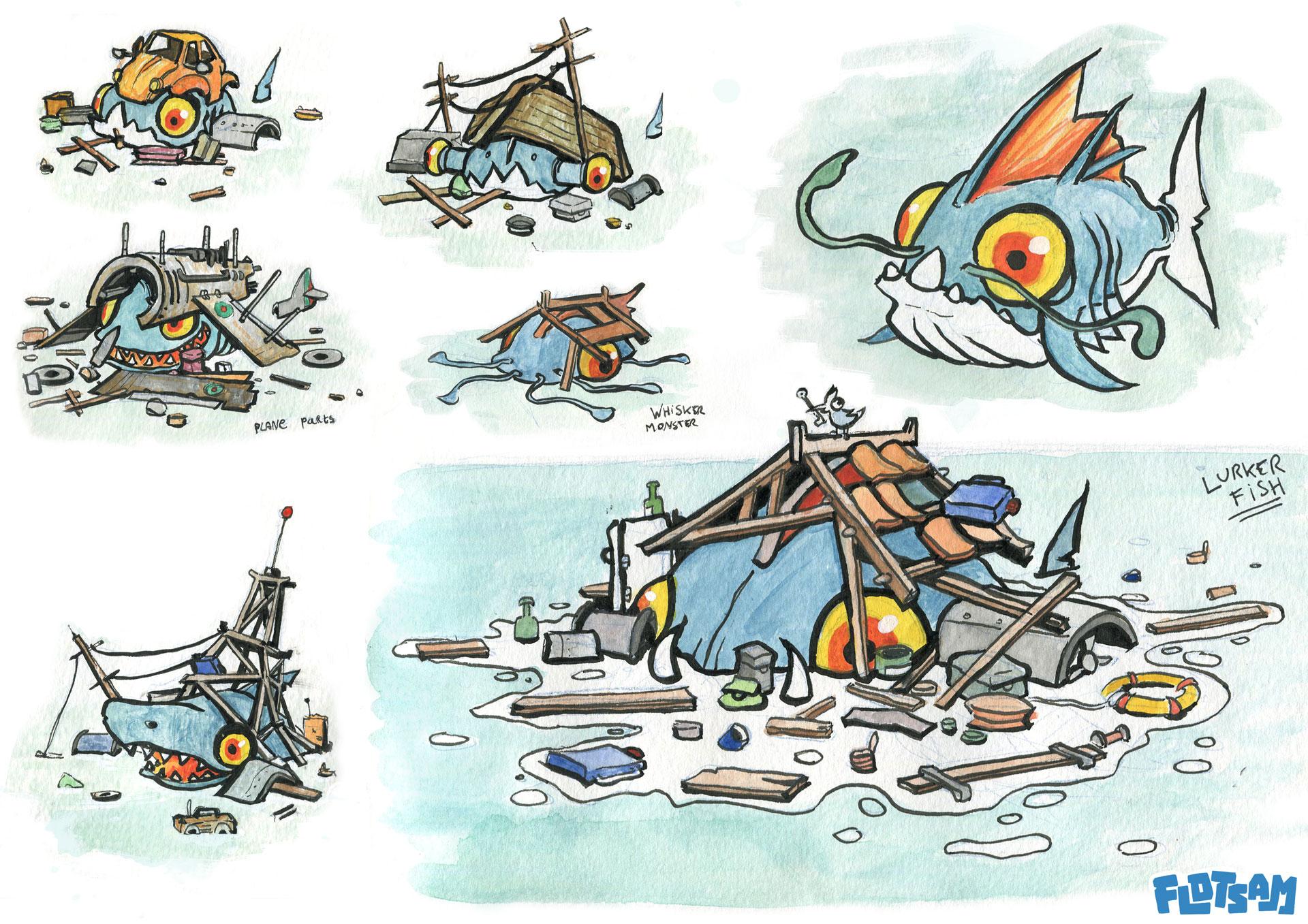 Flotsam - Creature Design