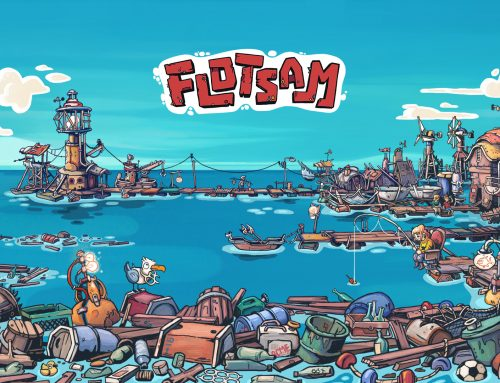 A view on Flotsam with our first wallpaper
