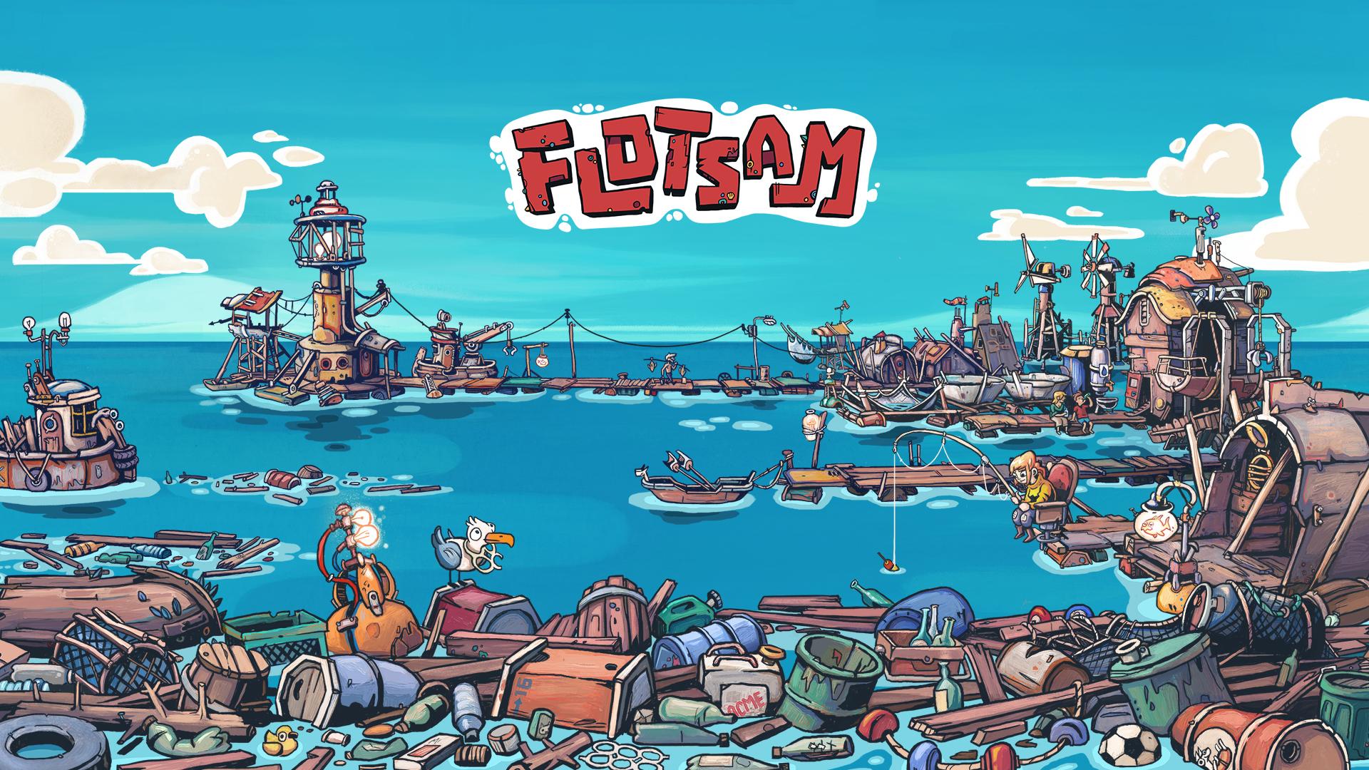 Flotsam Wallpaper