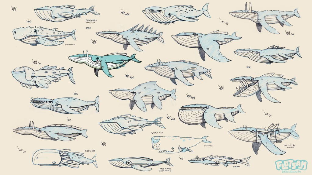 Whale concepts shown before
