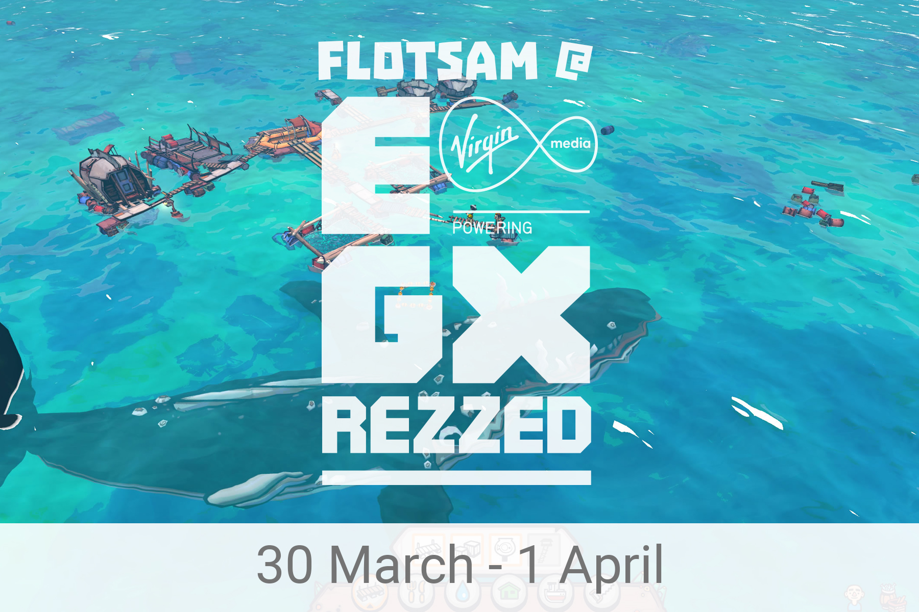 Flotsam at EGX Rezzed in the Leftfield Collection